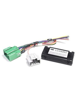 PAC Radio Replacement Interface for non-amplified 29-Bit GM LAN v2 vehicles with 20-Pin and 16-Pin