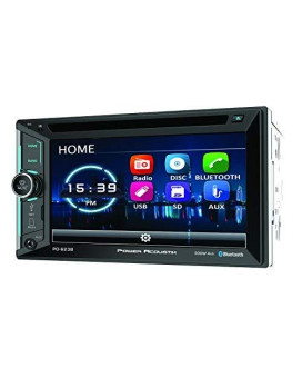 "Power Acoustik 6.2"" Double Din Receiver with Bluetooth"