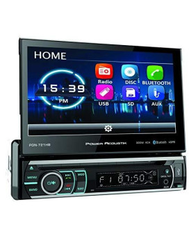 """Power Acoustik 7"""" Single Din Receiver with Bluetooth"""
