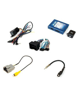 PAC Radio Replacement interface with OnStar telemetics retention steering wheel control