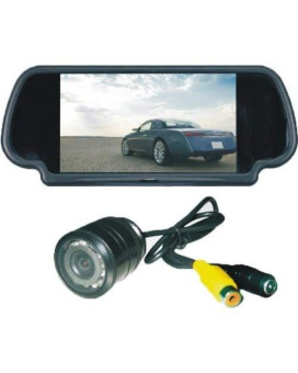 """Tview 8.1"""" Rearview mirror with camera"""