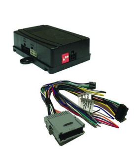 CRUX Radio Replacement w/SWC Retention for GM Class II Vehicles