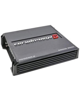 Cerwin Vega XED Mobile Series 2 Channel 600W Max Amplifier