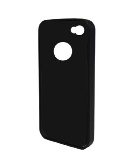 Tetrax 72032 Xcase Iphone 4 And 4S Htp Flex Case With Integrated Metal Clip For Tetrax Holder, Matt Black