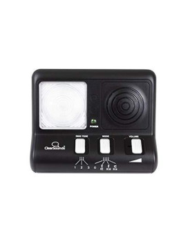 Clearsounds Cr200 Clearring Ring Signaler Booster With Flashing Led Strobe Ringer For Analog Telephones Landline