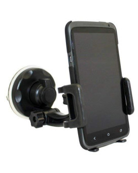 Xenda Universal Windshield Car Mount Cell Phone Holder Window Suction Cup Dock For Samsung Galaxy Proclaim - Samsung Galaxy S 2 4G - Samsung Stratosphere - Samsung Galaxy S 3 Sch-I535