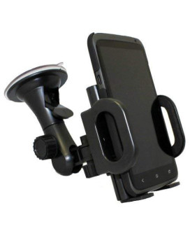 Xenda Car Mount Universal Vehicle Window Suction Cup Cell Phone Holder For Samsung Conquer 4G - Samsung Illusion - Samsung Galaxy Proclaim - Samsung Galaxy S 2 4G
