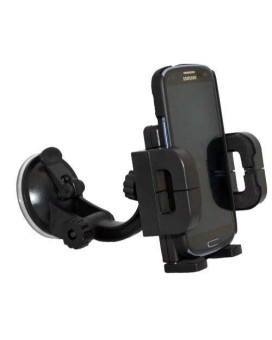Xenda 360 Degree Rotatable Universal Car Mount Windshield Cell Phone Holder Stand For Samsung Galaxy S4 Gt-I9500 - Verizon Samsung Galaxy S4 S 4 Sch-I545 - At&Amp;T Samsung Galaxy S4 Sgh-I337 - T-Mobile Samsung Galaxy S4 Siv Sgh-M919
