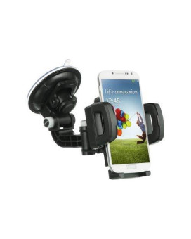 Dream Wireless Universal Car Mount Holder For Cellphone Mp3 Gps With Quick Lock And Release Retail Packaging Black