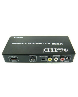 Viewhd Hdmi To Tv Composite Rca Av + S Video Converter | Include Av &Amp; S Video Cables + Ac Power Adapter | Model: H2Stvs