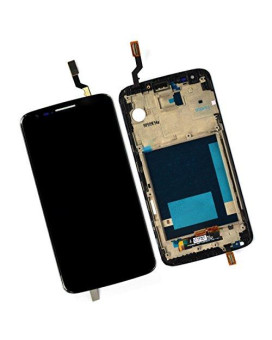 Generic Lcd Display Touch Digitizer Glass For Lg Optimus G2 Vs980 With Frame + Verizon Logo(Black)