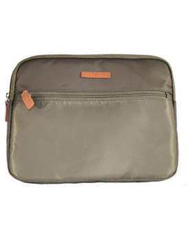 Perry Ellis Faux Trim Padded Tablet Case Green