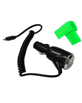 2 Amp Car Charger Adaptor Micro Usb For Lg B470 B-470 + Extreme Band (Car Charger)