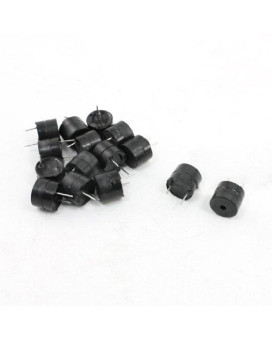 Uxcell 15Pcs Dc 5V 85Db Industrial Active Electronic Alarm Buzzer