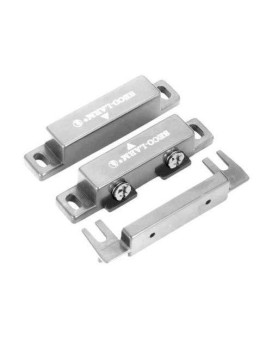 Seco-Larm Sm-300Q/W Screw-Terminal Surface-Mount N.O. Magnetic Contacts, White, Surface-Mount Magnetic Contacts, Screw Mount Using Side Tabs, Terminal Cover Provided