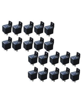 Absolute Usa Rls125-20 Spdt 30/40A 12 Vcd Automotive Relay - 20 Pack