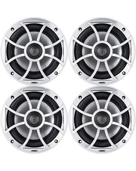 """Wet Sounds Xs-650 Series 6.5"""" Silver Cone Marine Coaxial Speaker - 200 Watts Max / 100 Watts Rms"""