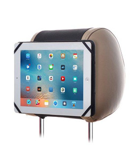 """Tfy 9-Inch To 10.1-Inch Tablet Pc Car Headrest Mount, Fast-Attach Fast-Release Edition, For Ipad Pro 9.7"""" And Other 9-10.1 Inch Tablet Pcs, Black"""
