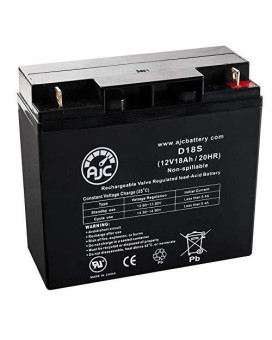 Solar Booster Pac Es1230 12V 18Ah Jump Starter Battery - This Is An Ajc Brand Replacement