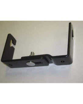 """Workman C-523 Cb Radio Mini Mounting Bracket With Quick Release Adjustable 3-3/4"""" To 4-3/4"""" Wide"""