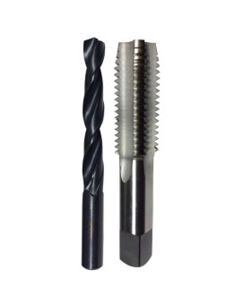 m2 X .4 HSS Plug Tap and matching 1.60mm HSS Drill Bit in plastic pouch