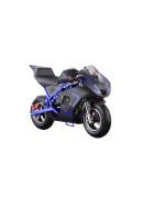 Go-Bowen Gas 40Cc Pocket Bike Blue
