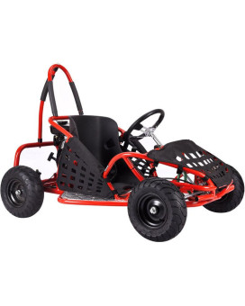 Baja X 79CC Kids Gas Go-Kart Red