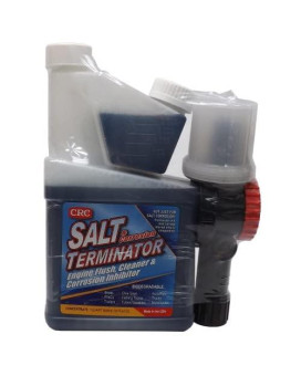 CRC SX-32M Salt Terminator Engine Flush Concentrate with Mixer - 32 oz.