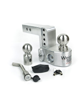 Tongue Weighing Adjustable Ball Mount - Includes Both 2 And 2-5/16 Balls 18,500 Lbs Max Gtw 2200 Lbs Max Tongue V5 & J684 Certified Keyed Alike Ws05 Included