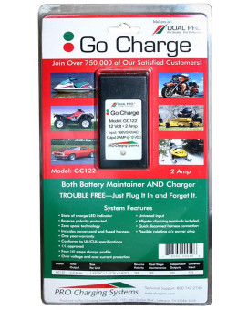 Dual Pro GC122 Battery Maintainer 1 Bank 2 Amps