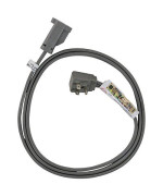 Certified Appliance Accessories 15-0312 15-Amp Appliance Extension Cord, 12 Feet, Grounded, Right Angle Plug Head