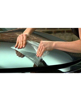 Vvivid Paint Protection Film Clear Vinyl Gloss Self Healing Wrap Guard (12 Inch X 54 Inch)