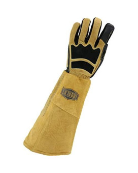 West Chester Ironcat 9070Lho Goat And Cow Stick Welding Glove - Left Hand Only Xx-Large Pre-Curved Fingers Kevlar Thread Climax Aerogel Insulation