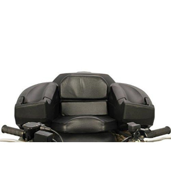Black Boar (66010) Atv Rear Storage Box And Lounger-Integrated Lock Helps Deter Theft-Mounting Hardware Included-Easily Mountable To Most Tubular Racks