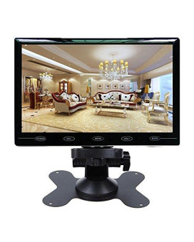 Cairute 9 Inch Ultra Thin 169 Hd 1024600 Tft Lcd Color Car Rear View Monitor 2 Video Input Dvd Vcd Headrest Vehicle Monitor Support Audio + Video + Hdmi + Vga