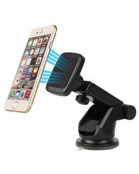 Yongcheng Magnetic Car Mount Scalable Long Arm Universal Smart Phone Dashboard & Windshield Car phone Holder For iPad iPhone 7 7Plus SE 6s 6 Plus 5s 5 Samsung Tablet Galaxy S7 Edge S6 S5 S4 Note HTC