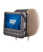 Wanpool Car Headrest Mount For 7 Inch Swivel Screen Style Portable Dvd Players (Dvd Player Is Not Included)
