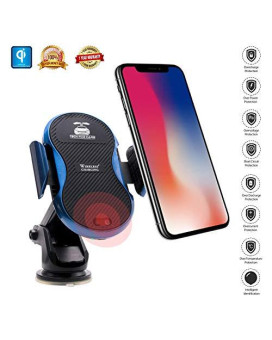 Wireless Car Charger With Automatic Infrared Sensor Wireless Charger Car Mount Fast Wireless Qi Car Charger Wireless Car Holder Charger For Car For Iphone Xsx 88 Plussamsung Galaxy S7S8 Note