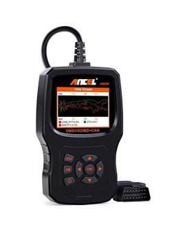 ANCEL AD530 Vehicle OBD2 Scanner Car Code Reader Diagnostic Scan Tool with Enhanced Code Definition and Upgraded Graphing Battery Status