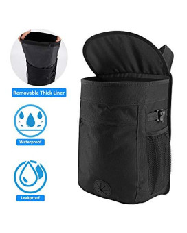 Cypropid Car Trash Can 25 Gallon Capacity Storage Bag Removable Leakproof Trash Can Liner Easy to Wash and Use Suit for Hanging in Your Car/Van/Truck/Auto/SUV