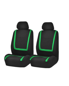 Unique Flat Cloth Bucket Seat Covers - Green