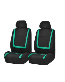 Unique Flat Cloth Bucket Seat Covers - Mint
