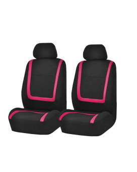 Unique Flat Cloth Bucket Seat Covers - Pink