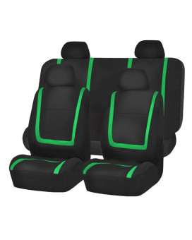 Unique Flat Cloth Seat Covers - Green