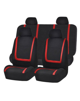 Unique Flat Cloth Seat Covers - Red