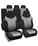 Supreme Twill Seat Covers - Grayblack