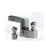 "Weigh Safe WS4-2 Adjustable Ball Mount with 4"" drop and 2"" Shank"
