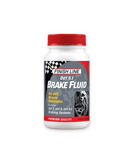 Finish Line High Performance DOT 5.1 Brake Fluid, 4-Ounce