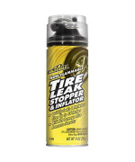 Gold Eagle 21703 Non-Flammable Tire Leak Stopper and Inflator - 14 av. oz.