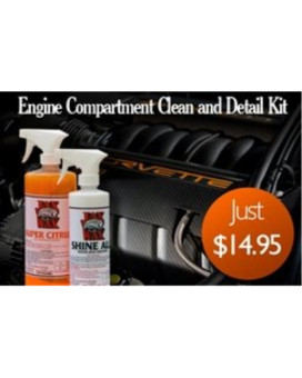 Jax Wax Commerical Engine Compartment Clean and Detail Kit